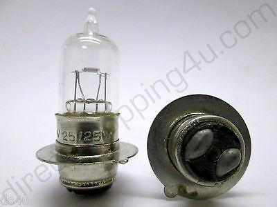2 x 3625 6v 25//25w MPF T19 Motorbike Motorcycle Classic Car Headlight Bulb