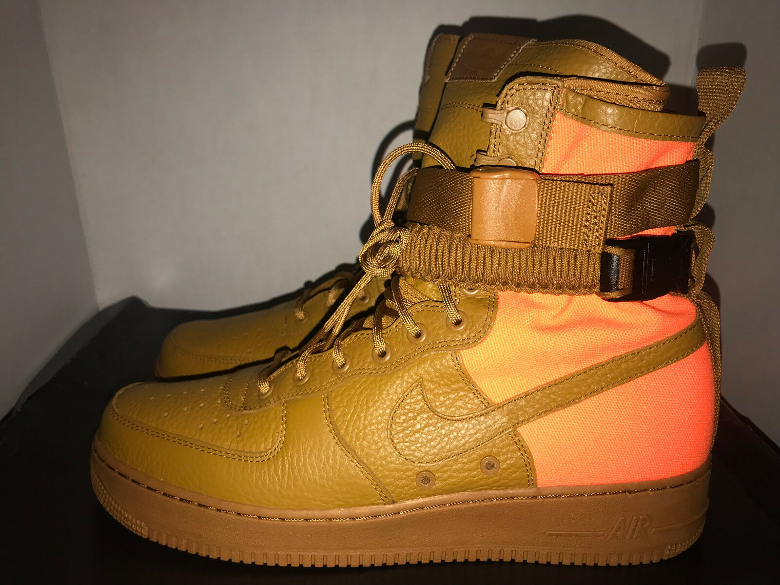 Nike Air Force 1 SF Special Forces QS Men's Size 11 13 Deadstock Desert Ochre
