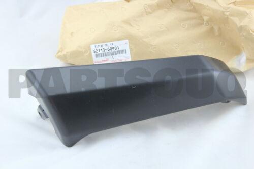 LH 52113-60901 FRONT BUMPER 5211360901 Genuine Toyota BAR