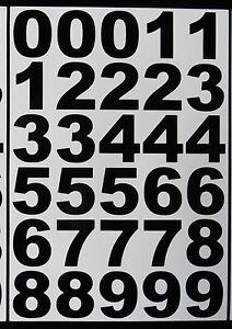 Collant-vinyle-chiffres-autocollants-decals-weather-proof-bk-et-wt-bin-porte-de-bureau-maison