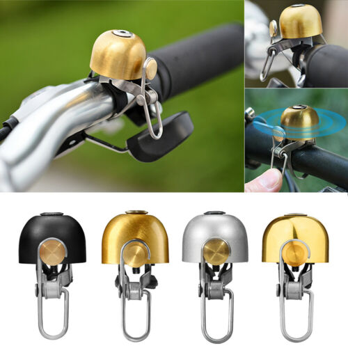 Cycling Bike Bicycle Handlebar Bell Safety Copper Ring Bicycle Accessories SHWO