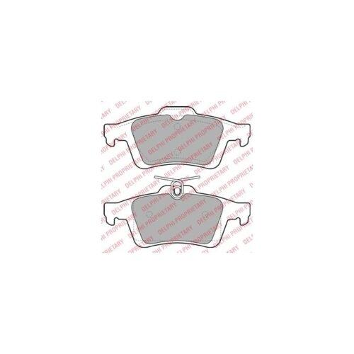 Scheibenbremse  Hinten für Ford Focus III Focus II DELPHI Bremsbelagsatz