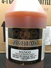 Mix Drink Concentrate Premium 1 Mango Frozen Beverage Mix Case 4 1 Gallon Slush