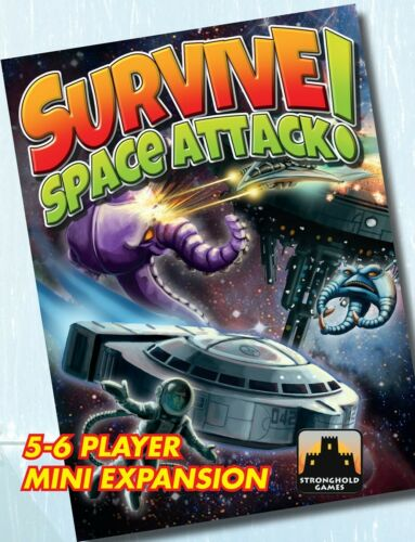 5-6 Player Mini-expansion Space Attack! SHG9005 Stronghold Games Survive