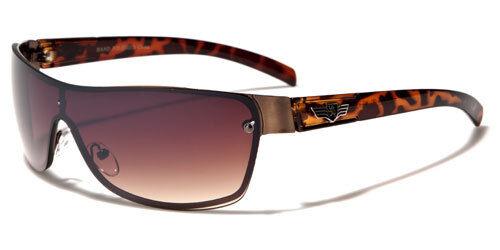 NEW Khan Rectangle Men/'s Designer Sport Black Sunglasses 100/% Protection KN1124
