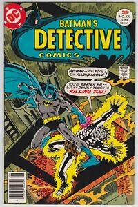 Detective-Comics-470-VF-8-5-Batman-Dr-Phosphorous