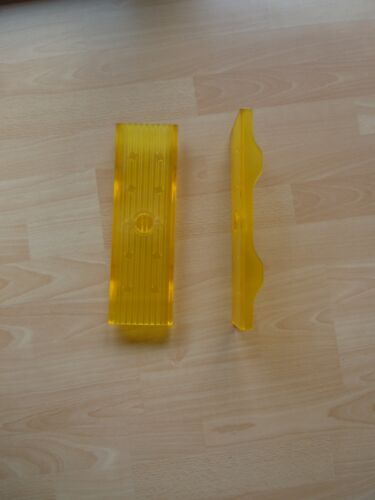 1 x Bootsauflage  Kielauflage  Polyvinyl gelb 300x92 Sliphilfe Auflage Trailer