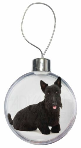 AD-ST2CB Scottish Terrier Christmas Tree Bauble Decoration Gift