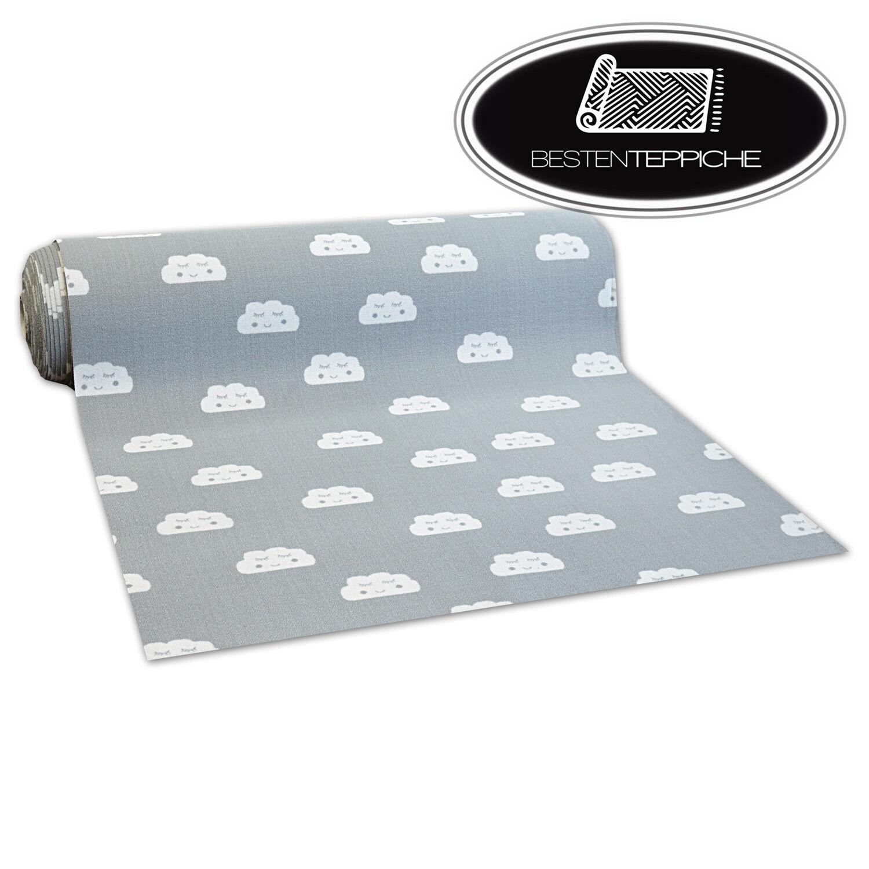 Antiscivolo Aw Clouds Grigio Larghezza 100, 150, 200 cm Pavimento Tappeto