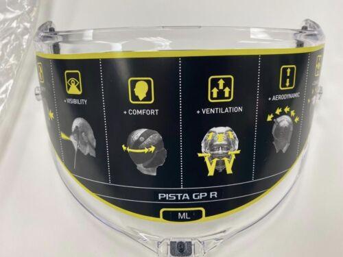 Brand New in Bag. AGV Clear Visor suitable For Pista GP R Corsa R Helmets