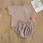 thumbnail 7 - USA Sibling Brother Sister Twin Baby Boy Girl Rainbow Jumpsuit Top Pants Outfits