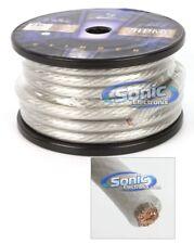 4 Foot Cut of Stinger HPM 0 Gauge 1//0 Matte Blue Pure Copper Power Wire SHW10B