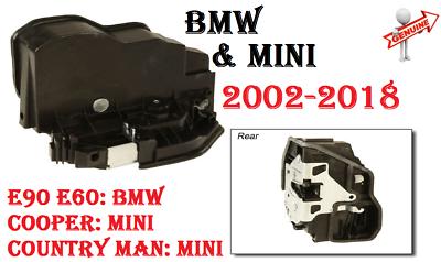 Door Lock Actuator Door Lock Latch Front Left 51217202143 E90E60 For BMW New