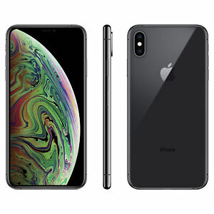 Apple iPhone XS Max 512GB Space Gray Verizon T-Mobile AT&T Unlocked Smartphone