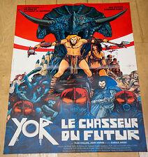 Affiche de cinéma : YOR, LE CHASSEUR DU FUTUR de ANTHONY M. DAWSON