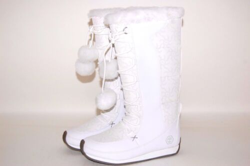 Timberland White Tall Nordic Groove 36772 Youth Preschool Boots Shoes