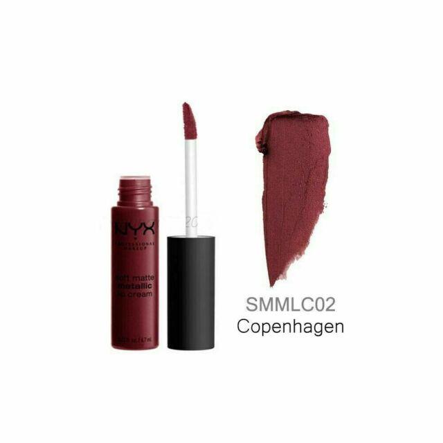 NYX SOFT MATTE LIP CREAM - Copenhagen Sealed