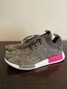 NEW CAMO/Pink Adidas Originals NMD R1