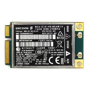 HP EliteBook 2560p Notebook Ericsson Mobile Broadband Driver Windows XP