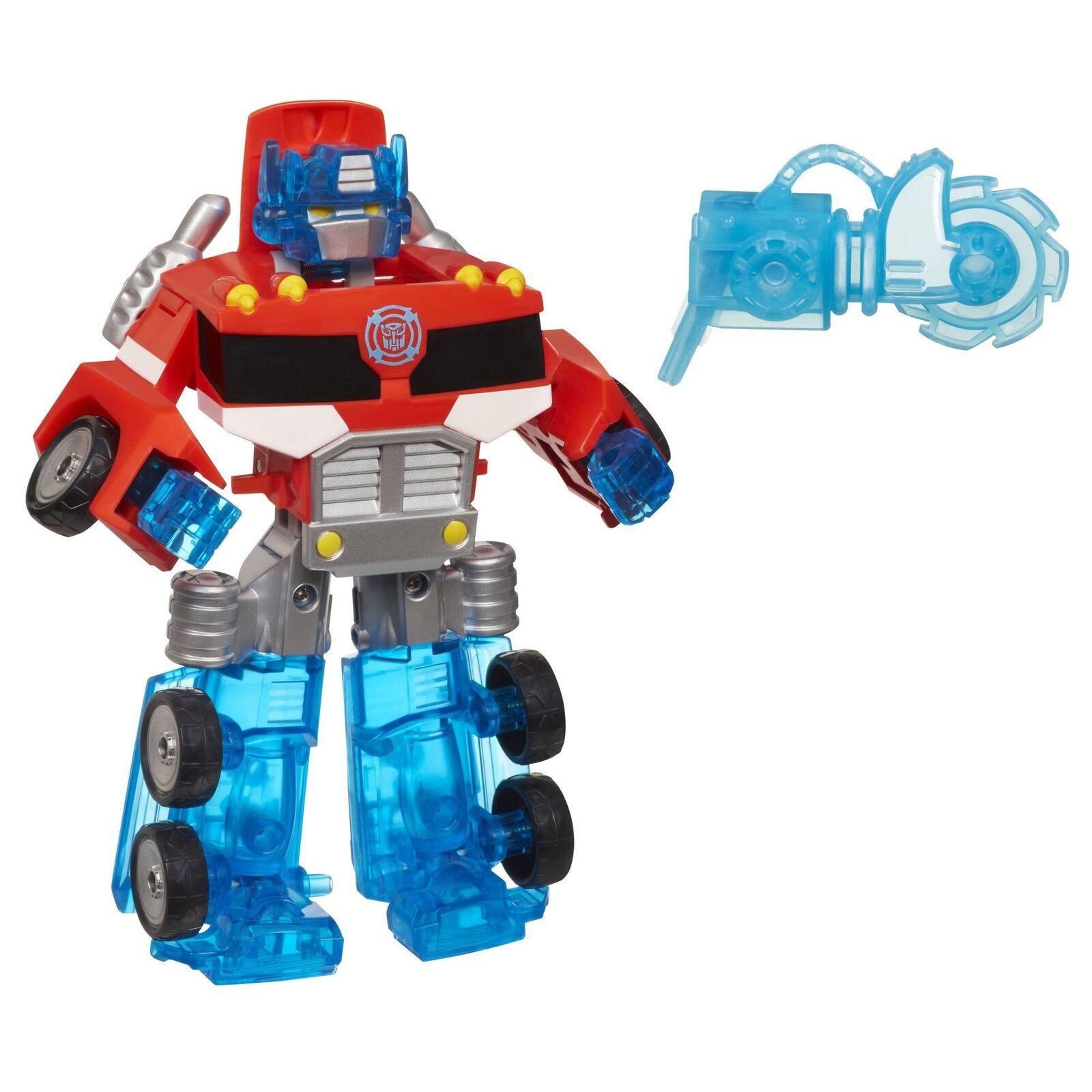 Transformers Playskool Heroes Rescue Bots Energize Optimus Prime Action Figure,