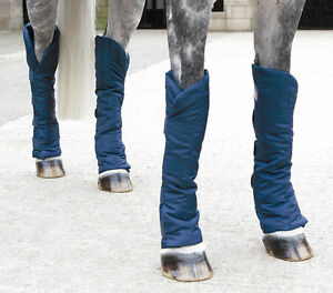 Shires-Travel-Sure-Soft-Flexible-Quilted-Nylon-Travelling-Boots-Set-Of-4-P-C-F