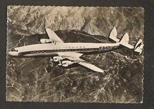 ORLY (94) AEROPORT AIR FRANCE / SUPER-CONSTELLATION immatriculé FBCDW en vol