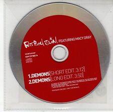 (DV390) Fat Boy Slim ft Macy Gray, Demons - 2001 DJ CD