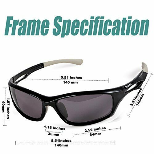 6a3ffd98728c Duduma Polarized Designer Fashion Sports oakley sunglasses glasses  (black/black)