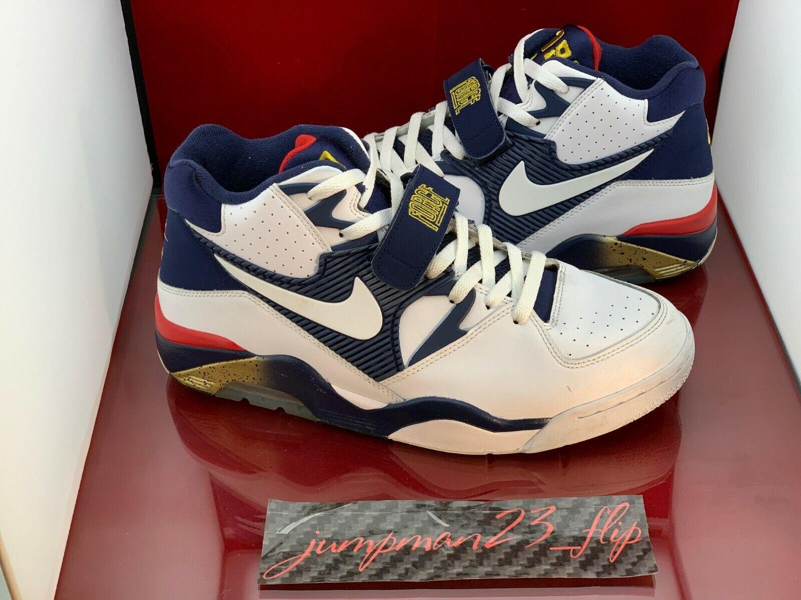 "Nike Air Force 180 ""Barkley Olympic"" 2016 Size 10.5 Worn"