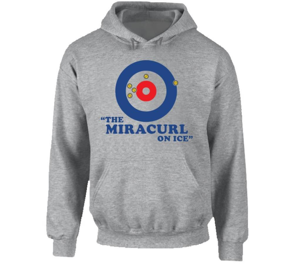 The Miracurl On Ice USA Curling Team Fan Hoodie