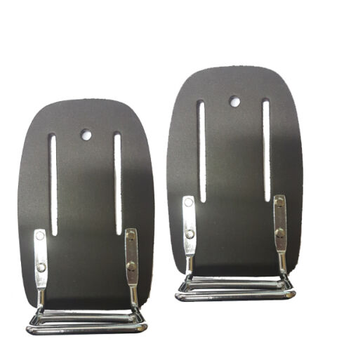 End Cutting Plier Holder Oil Tan Leather Steel Fixer Plier Holder 1pc sale
