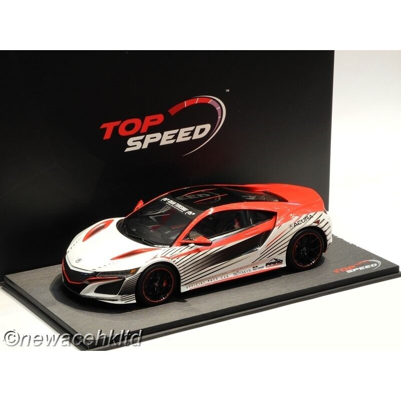 Acura Nsx 2015 Pikes Peak Pace Voiture TOP SPEED MODEL 1 18  TS0010