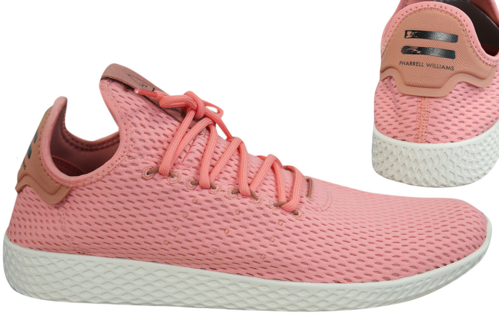 Adidas Originals Pharrell Williams Lace Tennis HU Mens Trainers Lace Williams Up BY8715 PO eb82d2