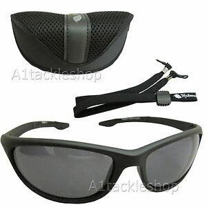 *NEW* Wychwood Wrap Polarised Fishing Sunglasses Sun Glasses SMOKE
