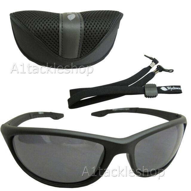02aefb09505 Wychwood Wrap Polarised Fishing Sunglasses Sun Glasses Smoke for ...