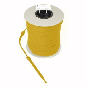 VELCRO-Brand-ONE-WRAP-10-x-25mm-x-300mm-Cable-Tie-YELLOW-Double-Sided-Strapping