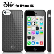 Apple iPhone 5C Case iSkin Flex Diamond Silicone Impact Protection Black Cover