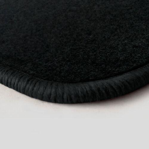 NF Velours schwarz Fußmatten passend für OPEL Ascona C 83-88