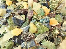 Rough Gemstones Crystals Mix Lapidary Cabbing Tumbling Rocks Stones 1/2 Lb Lot