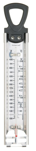 Preserve /& Frying Thermometer Kitchen Craft Stainless Steel Heavy Duty Jam