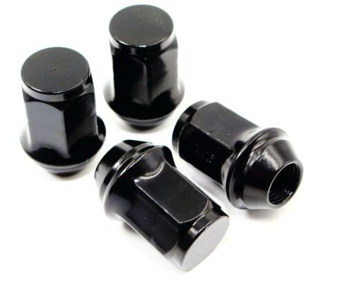 "20 14x1.5 1.5/"" 21mm Hex Black Lug Nuts for Dodge Chrysler Jeep Factory Wheels"
