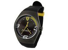 Ferrari señores reloj de pulsera-Pit Stop Watch, reloj nuevo sólo caja para relojes está dañado!