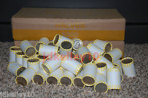 Unsearched! Possible Silver 1 Roll of Bank Wrapped Kennedy Half Dollars