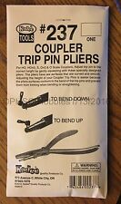 HOn3 to O Scale - KADEE TOOLS # 237 COUPLER TRIP PIN PLIERS - ONE Pair