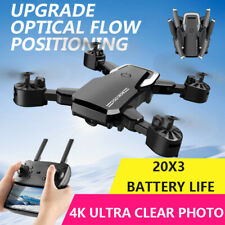 Drone X165 WIFI FPV 4K HD Camera 3 Batteries Foldable Selfie 2.4G RC Quadcopter
