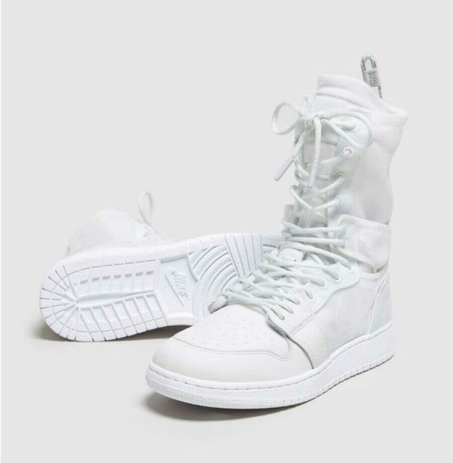 6 WOMEN'S NIKE Air Jordan 1 Retro High Explorer XX Off White AJ1 AO1529-100 BOOT Casual wild