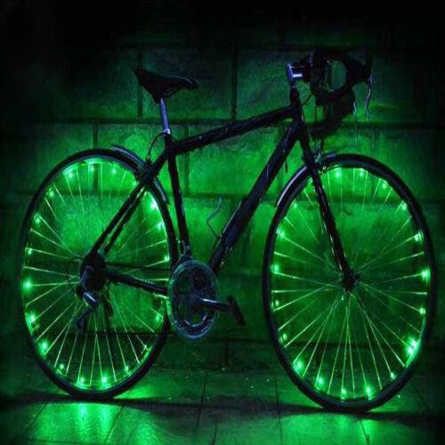 Bike Wheel Lights Bike Spoke Lights LED Light String Waterproof Lights