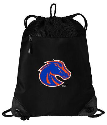 Boise State Drawstring Bag Backpack COOL MESH /& MICROFIBER