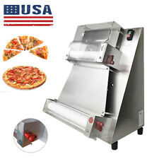 370w Electric Pizza Dough Roller Sheeter Pastry Press Making Sheeter Machine Us