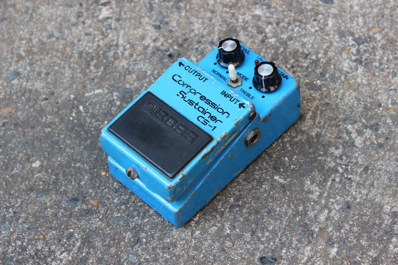1981 Boss CS-1 Compression Sustainer MIJ Japan Vintage Effects Pedal